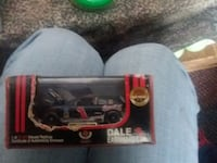 black, white, and red Dale Earnhardt Jr. stock car die-cast with box Hindsboro, 61930