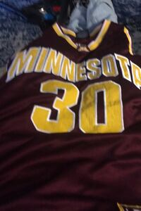 Authentic Minnesota Gophers Basketball Jersey