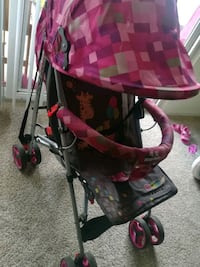 baby's pink and black stroller Alexandria, 22304