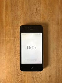 iPhone 4s black 16gb unlocked Ottawa