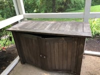 Outdoor Wood Cabinet Clifton