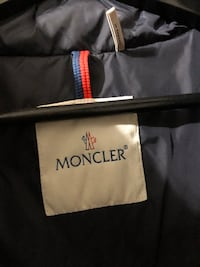 Men moncler jacket size 6