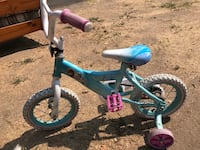 toddler's blue and pink bicycle with training wheels Manteca, 95336