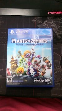 Plants vs zombie battle for neighborville ps4