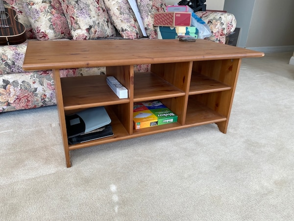 Sold Ikea Coffee Table With Storage In