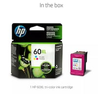 HP ink cartridge box screenshot Baltimore, 21206