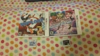 Two 3DS games 1088 mi