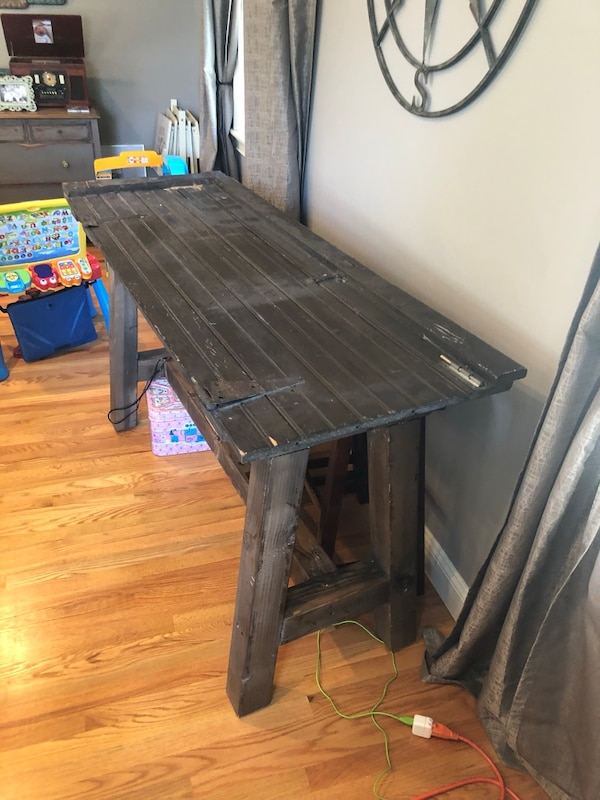 Custom Made Recovered Door Console Table