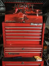 Snap on top and middle box 26""