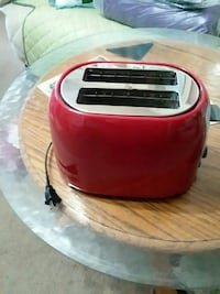 red and white portable air cooler Bolivar, 65613