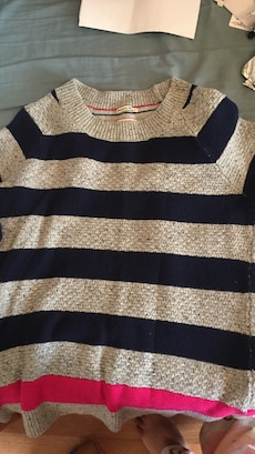 Striped Tommy Hilfiger sweater. Hardly used