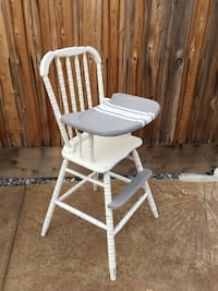 Vintage jenny lind high chair