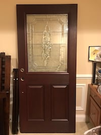 Beautiful Mahogany Entry Door Upper Marlboro, 20772