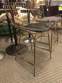 Set of 2 gold bertoia counter stools  Alexandria, 22312