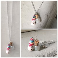 Christmas snowman necklace Kelowna, V1Y 5Y3