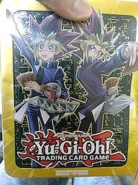 Yugioh Cards + Tin