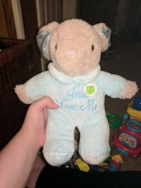 Jesus loves me stuffed bunny Chesnee, 29323