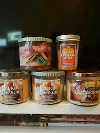 Fall Bath and Body Candles