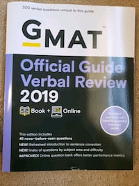 GMAT official guide 2019 East Palo Alto