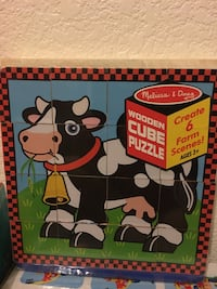Wooden Cube Puzzle Toy Henderson, 89052