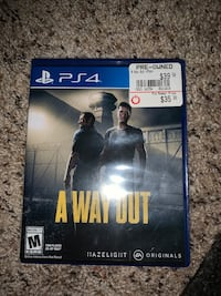 A Way Out (video game) PS4 Aberdeen, 21001