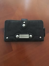 Black leather juicy couture wallet  Port Coquitlam, V3C 6M3