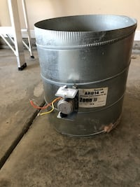 """Honeywell 14"""" Automatic Round Damper and Actuator  Union City, 30291"""
