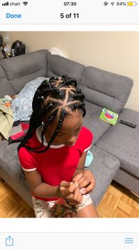 Braided hairstyle for black women...Box, crotchet, jumbo, cornrows etc Ottawa, K1L 6L6