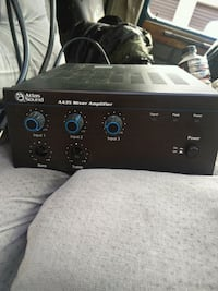 Atlas sound aa35 amplifier and mixer