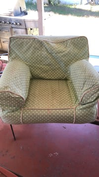 black and white polka dotted sofa chair Los Angeles, 91307