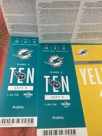 Dolphins tickets Lake Worth, 33461