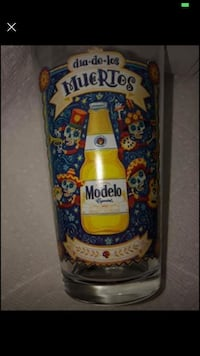 Modelo pint glass collectible  Wilkes-Barre, 18702