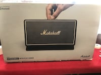 Marshall Stockwell Portable Bluetooth Speaker with flip cover seald new  New York, 10455