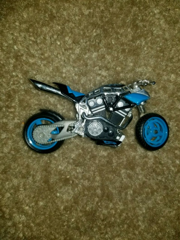 Hot wheels motorcycle toy