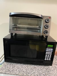 Microwave and Toaster oven - must go today!!