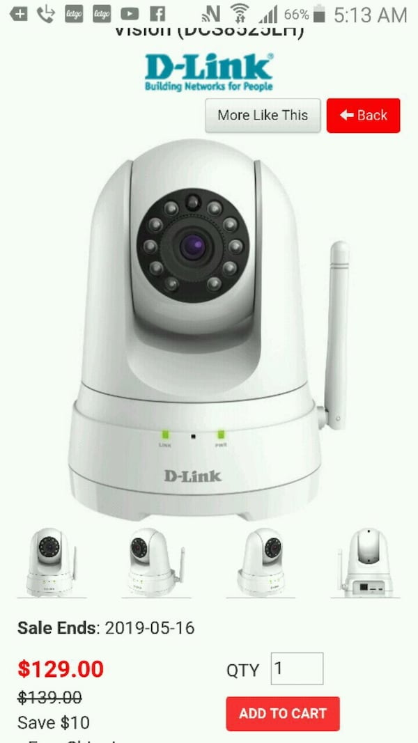 D-link HD cam asking only $60? /new 96140630-0d3a-4aaa-8550-41561012b869
