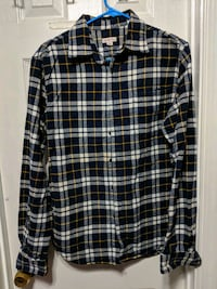 black and white plaid dress shirt Woodbridge, 22192