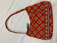 red and white floral crossbody bag Jamestown, 14701