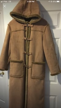 Beautiful coat sheepskin size M new