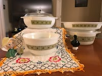 Pyrex Square Flowers Derby, 06418