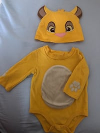 Simba outfit 3-6month, perfect for Halloween  Fairfax, 22031