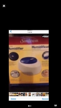 Humidifier Brand Sunbeam Never Used Reduced Toronto, M4A 2K5