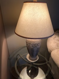 2 piece lamp set + shades included