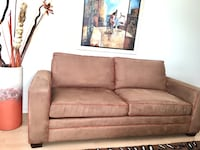 brown fabric 2-seat sofa Richmond Hill, L4S 1J2