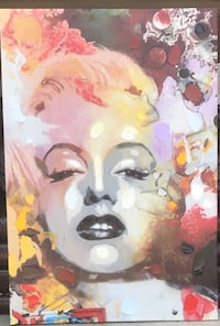 Marilyn Monroe Oil Painting Woodbridge