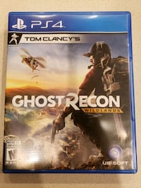 Tom Clancy's Ghost Recon wild lands. PS4 game Coquitlam, V3E 3H1