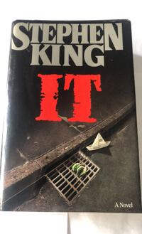 It by Stephen King First Edition 1st Print1986 Hardcover Dust Jacket