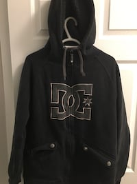 LINED DC ZIP UP HOODIE SIZE LARGE! Springfield, R0E