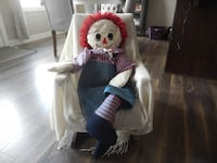 "*Vintage* Large 39"" Handmade Andy Doll  Morinville"
