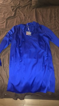 Blue miss guided long sleeve dress  Laval, H7M 4S9
